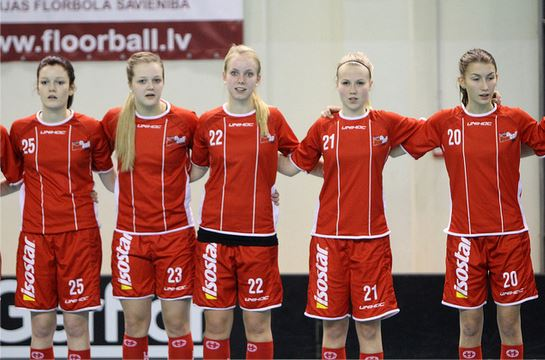 floorball danmark kvinder de fries Di nardo Jasmin U19 landshold