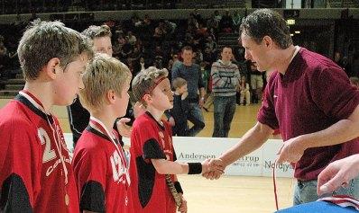 Floorball Bøge U9 landsstævne