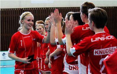 floorball dk U19 landshold piger kvinder