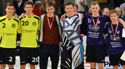 floorball U17 årets hold