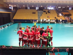 floorball u19 hold