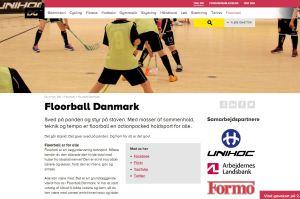 floorball hjemmeside