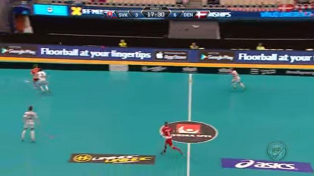 floorball u19 dk-svk