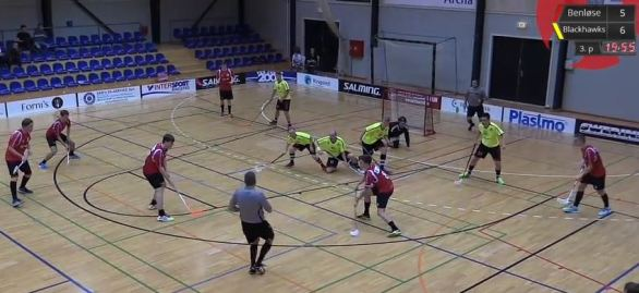floorball benløse blackhaws
