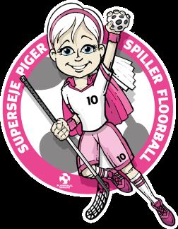 blog floorball pige logo