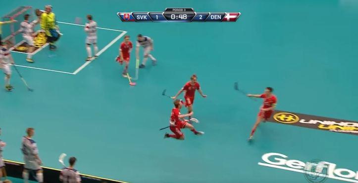 blog floorball U19 kajgaard jubel